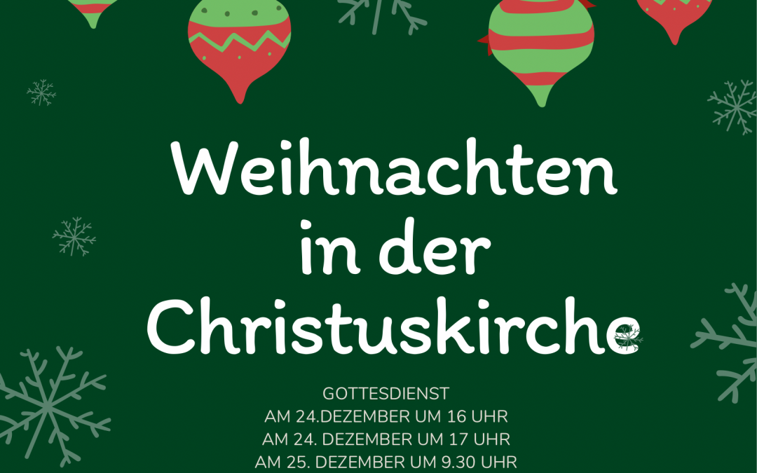 Weihnachten in der Christuskirche